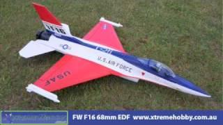 getlinkyoutube.com-Freewing F-16 EDF Jet W/ Thrust vector 360 degree Nozzle