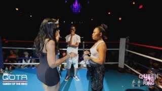 getlinkyoutube.com-BABS BUNNY & VAGUE present QUEEN OF THE RING JAZ THE RAPPER vs 40 B.A.R.R.S. #NHB