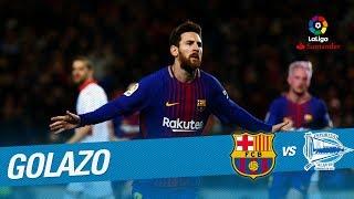 Golazo de Messi (2-1) FC Barcelona vs Deportivo Alavés