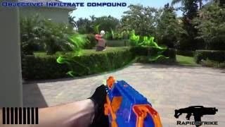 NERF VIDEO GAME | COMPOUND INFILTRATION