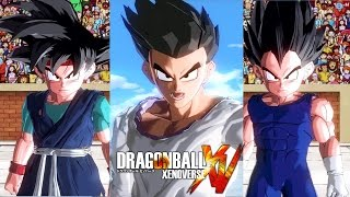 getlinkyoutube.com-[PC] Dragon Ball: Xenoverse - (MODS) - Adult Goten , Goku Jr vs Vegeta Jr