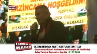 AK Parti, Erzincan'da İlçe ve Belde Adaylarını Tanıttı