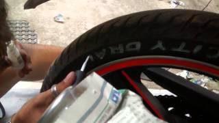 getlinkyoutube.com-Como pintar o nome do pneu 3/4 - Lu9004
