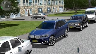 getlinkyoutube.com-City Car Driving 1.4.1 BMW X5 F15 2015 [G27]