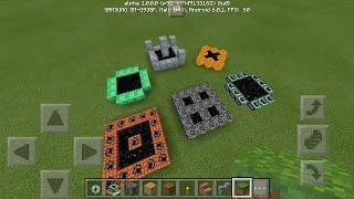 getlinkyoutube.com-How To Make Custom Ender Portals in MCPE - Minecraft PE (Pocket Edition)