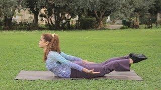 تمارين لتقوية عضلات الظهر | مع دوريس
