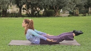 getlinkyoutube.com-تمارين لتقوية عضلات الظهر   مع دوريس