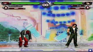 getlinkyoutube.com-The King Of Fighters Wing EX v1.0 Bosses Hyper Combos