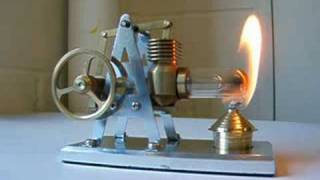getlinkyoutube.com-new Stirling hot air engine from Maidstone Engineering