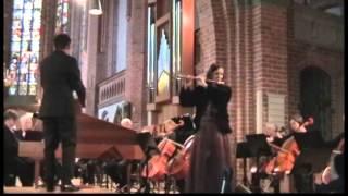 Carl Philipp Emanuel Bach - Konzert d moll für Flöte, Streicher und Cembalo, Wq 22