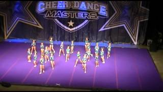 getlinkyoutube.com-Jersey All Stars Lime - Junior L3 - 1st Place, Grand Champs, Final 4 - Costal Cheer & Dance Masters