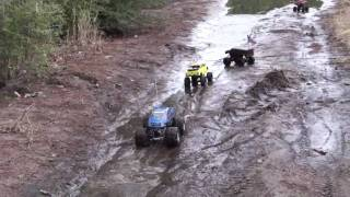getlinkyoutube.com-real country boyz  rc mud boggin
