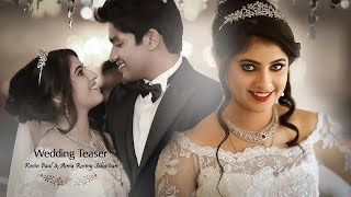 Actress Aima Rosmy &  Kevin Official Wedding Teaser
