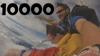 getlinkyoutube.com-10,000 Subscriber Skydive!
