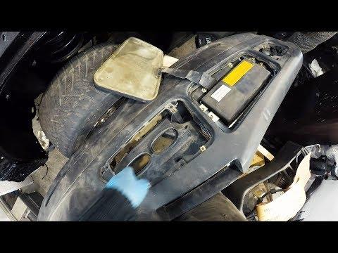 Где находится вентилятор печки в BMW Е34