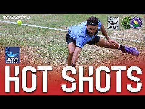Federer Break Point Hot Shot Halle 2017