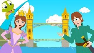 London Bridge is falling down - Nursery Rhyme for kids - kids song with lyrics