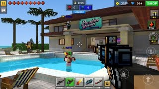 getlinkyoutube.com-Pixel Gun 3D (Minecraft) - Parkour City - Team Deathmatch - MULTIPLAYER
