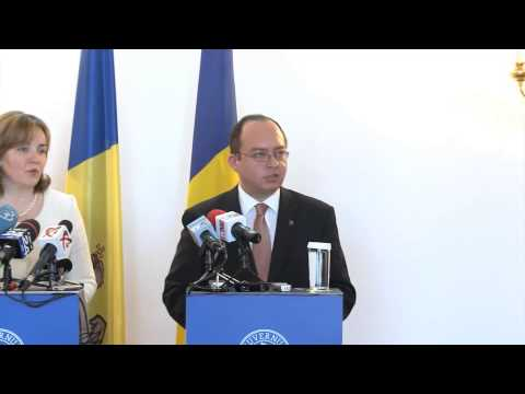 Declaraţii comune de presă Bogdan Aurescu – Natalia Gherman