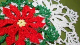 getlinkyoutube.com-Noche Buena Crochet