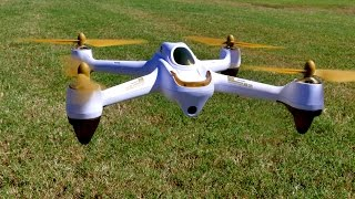 getlinkyoutube.com-Drone Review - Hubsan H501S X4 FPV