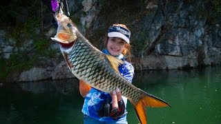 getlinkyoutube.com-Angler 's paradise fishing place เขื่อนเขาแหลม สวรรค์ของนักตกปลา  fishingEZ