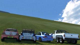 getlinkyoutube.com-BeamNG.drive - Climb Brutal Slope!