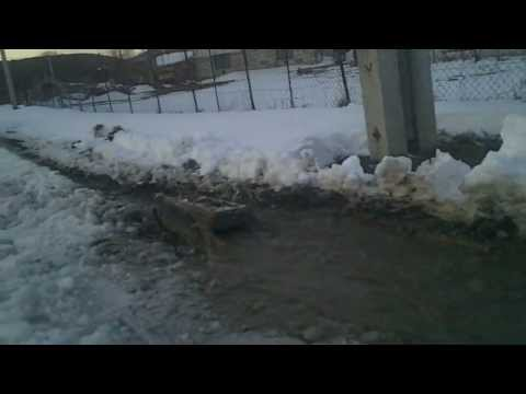 #21 Homemade RC tracked vehicle ( UGV ) - #3 In the snow - J.Laci