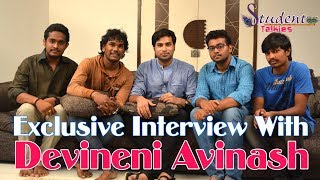 getlinkyoutube.com-DEVINENI AVINASH INTERVIEW with STUDENT TALKIES