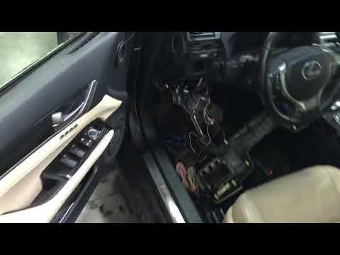 Sigma 15 на Lexus gs250 2012 автозапуск со штатного ключа