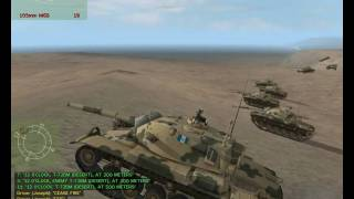 getlinkyoutube.com-| M60A3 v. T-72 Tank Battle | Armed Assault - Tank Battle