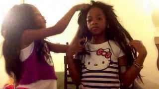 getlinkyoutube.com-Lil girls Perm It Up!!