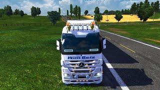 getlinkyoutube.com-Euro Truck Simulator 2 - Mercedes Actros Combi Mod