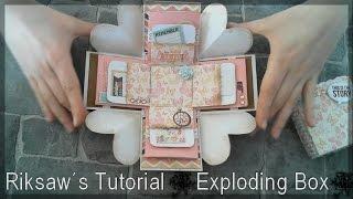 getlinkyoutube.com-DIY [Tutorial #1] Exploding Box [with english sub]
