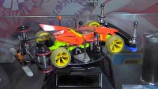 getlinkyoutube.com-Tamiya Mini4wd - Body pop-up system Machine (Super II chassis)