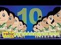 Sampung Malulusog Na Bata Animated Awiting Pambata