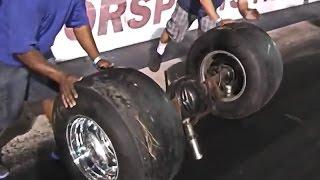 Wild & Crazy Drag Racing Crash Video