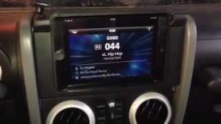 getlinkyoutube.com-Jeep Jk Wrangler Ipad Mini Install