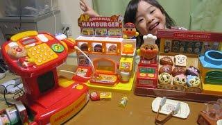 getlinkyoutube.com-ひかり君(4歳)、アンパンマン おもちゃ大型お店に挑戦♪