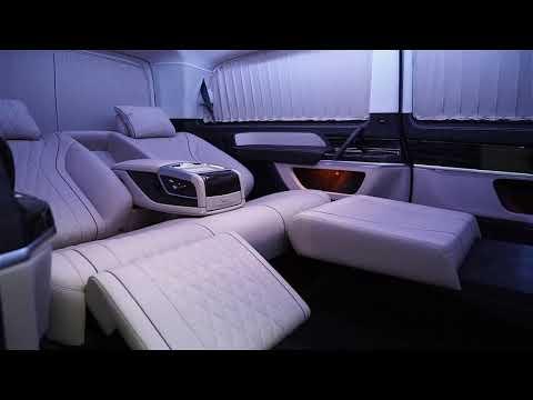 В салоне как в бизнес классе – VIP тюнинг салона Mercedes V Class