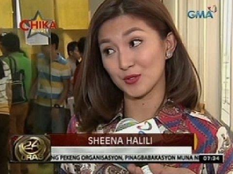 24 Oras: Sheena Halili, nagkwento tungkol sa gagampanang papel sa