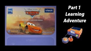 getlinkyoutube.com-Cars: Rev It Up In Radiator Springs (V.Smile) (Playthrough) Part 1 - Learning Adventure