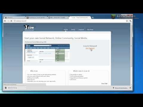 How to make your own Social Network Website with Jcow