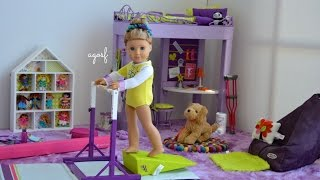 getlinkyoutube.com-American Girl Doll McKenna's Bedroom ~ Watch in HD!