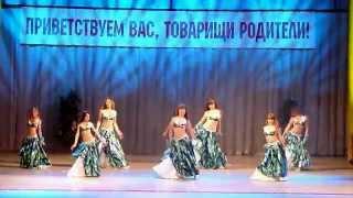 getlinkyoutube.com-Belly dance group of children 9-13 years