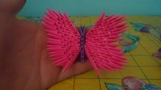 getlinkyoutube.com-como hacer una mariposa de origami 3d