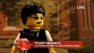 getlinkyoutube.com-Sarah Palin Interview - LEGO News To Me