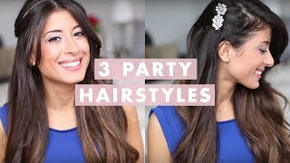 getlinkyoutube.com-3 Party Hairstyles