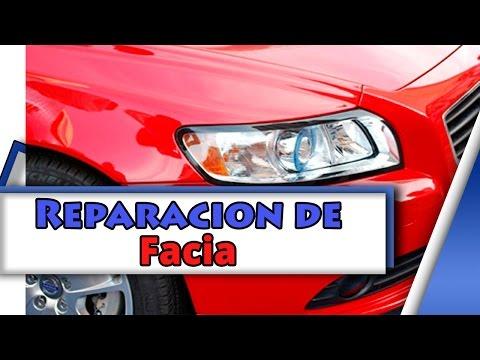 Tutorial de reparacion de facia (plastico) (defensa de auto)