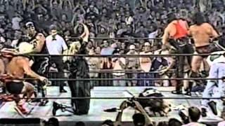getlinkyoutube.com-Massive WCW Brawl Interrupted by Sting